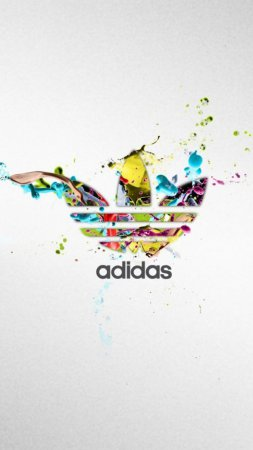 Adidas Colorful Logo Splash