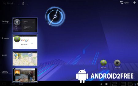 Обзор Android 3.0 Honeycomb